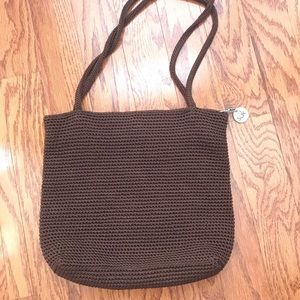 The Sak Brown Knit Purse